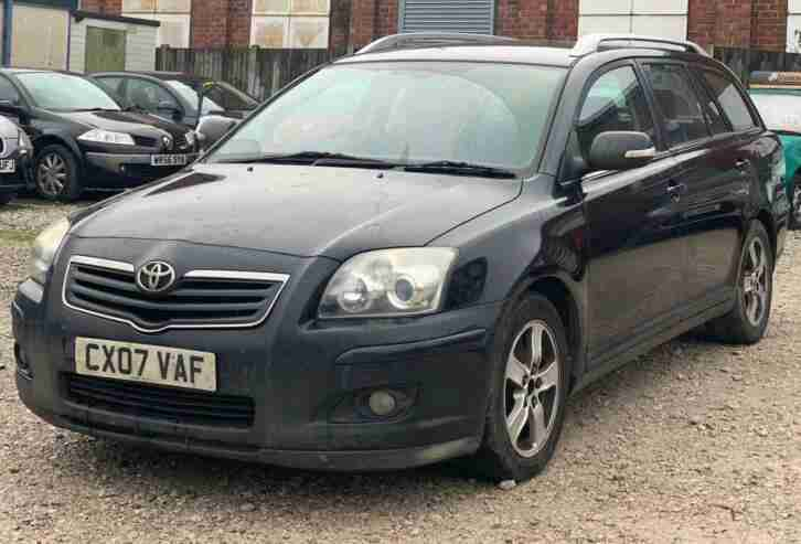 Toyota Avensis 2.2. Toyota car from United Kingdom