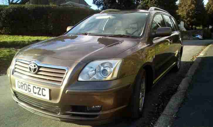 Toyota Avensis. Toyota car from United Kingdom