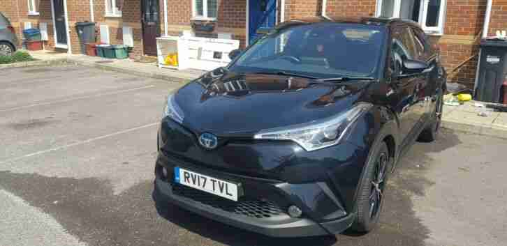 Toyota C-HR hybrid automatic 2017 for sale