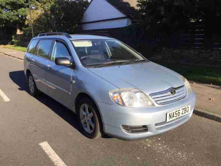 Nietypowy Okaz Toyota Corolla d4d t2 estate 56 plate. car for sale VQ56