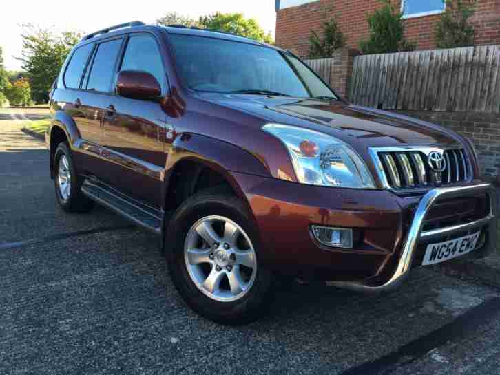 Toyota Land Cruiser 3.0 D 4D AUTOMATIC LC5 ONLY 84383 MILES 8 SEATER