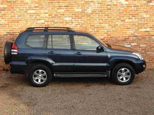 Toyota Landcruiser 3.0TD LC3 5dr 1 OWNER TOYOTA SERVICE HISTORY DIESEL 2005