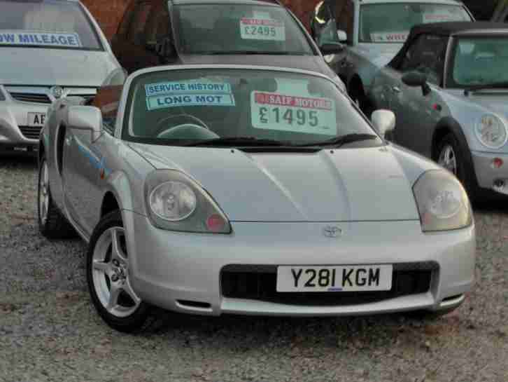 MR2 ROADSTER 1.8 VVTI