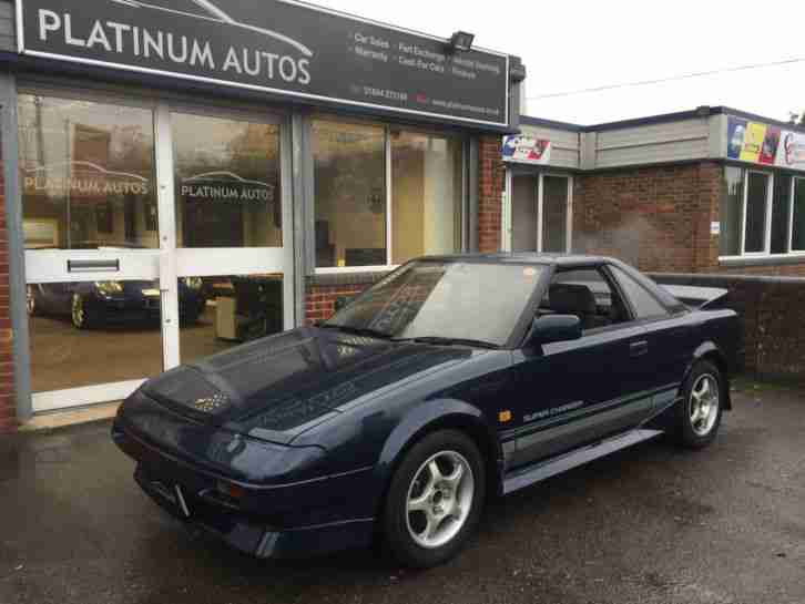 Toyota MR2 Supercharged T BAR 1988 E Reg