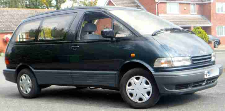 Toyota Previa People Carrier Taxed And Tested Car For Sale