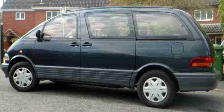 Toyota Previa people carrier taxed and tested. car for sale