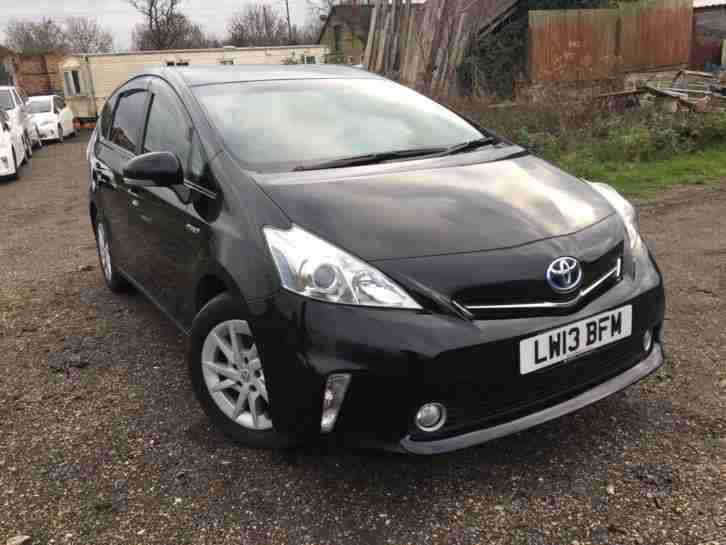 Toyota Prius PLUS ALPHA 1.8 VVT i CVT 2013(13) BLACK 7 SEATERS