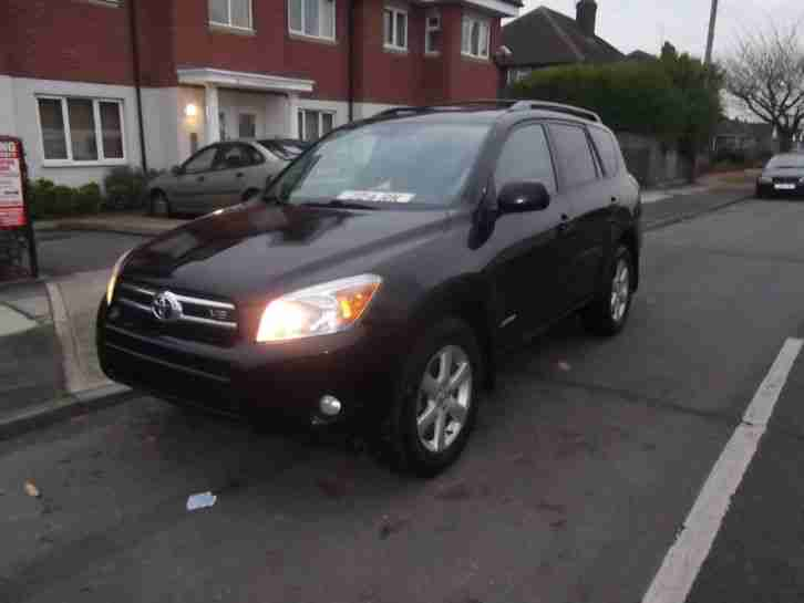 Toyota RAV4 3 5 V6 Auto left hand drive Lhd for export