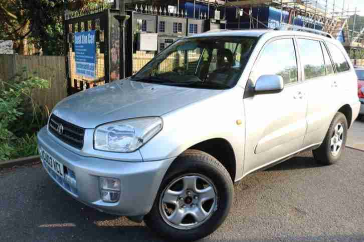 Toyota Rav4 2.0 Silver 5 Door Long MOT Finance Available