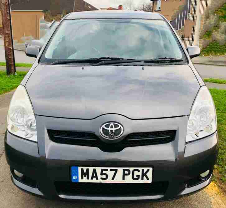 Toyota Verso 1.8. Toyota car from United Kingdom