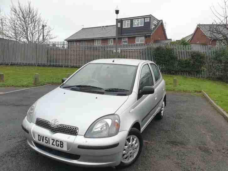 Toyota Yaris 1.3. Toyota car from United Kingdom