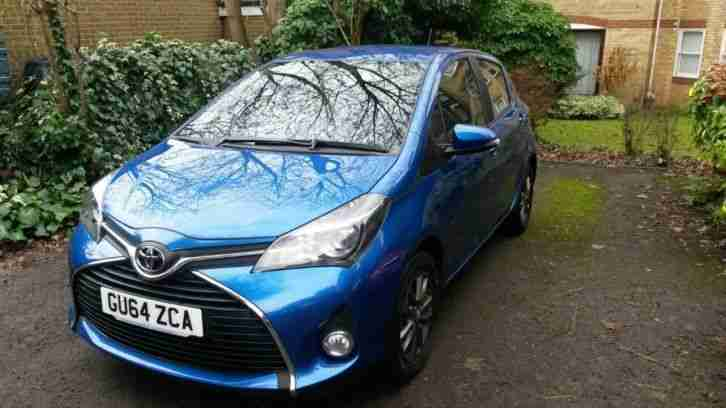 Toyota Yaris 1.33 VVT i Icon 5dr Low mileage,