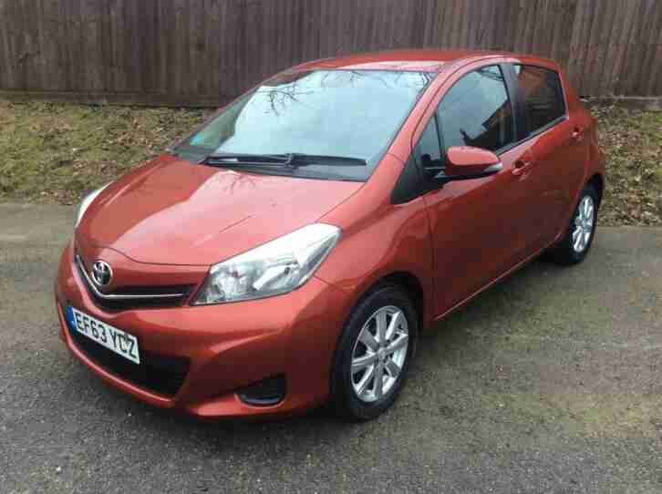 Toyota Yaris 1.33. Toyota car from United Kingdom