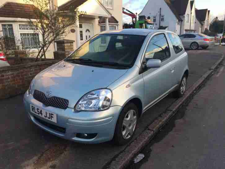 Yaris 2005, New MOT, Blue, 998cc,