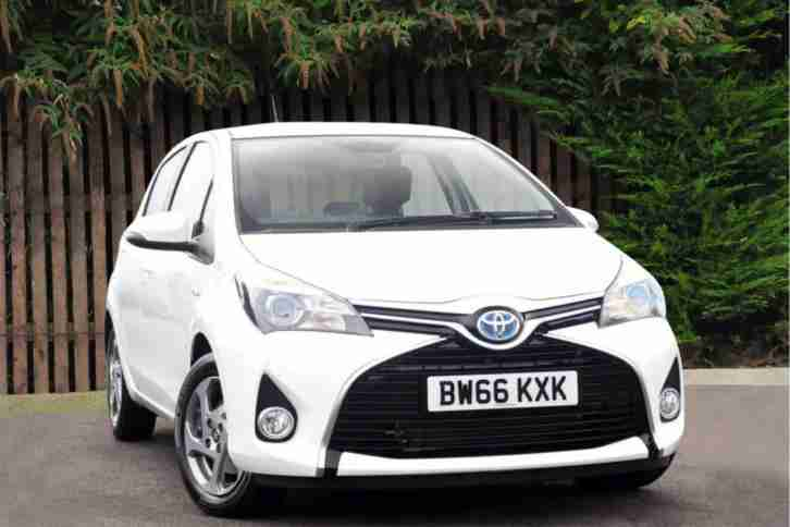 Toyota Yaris 2017. Toyota car from United Kingdom