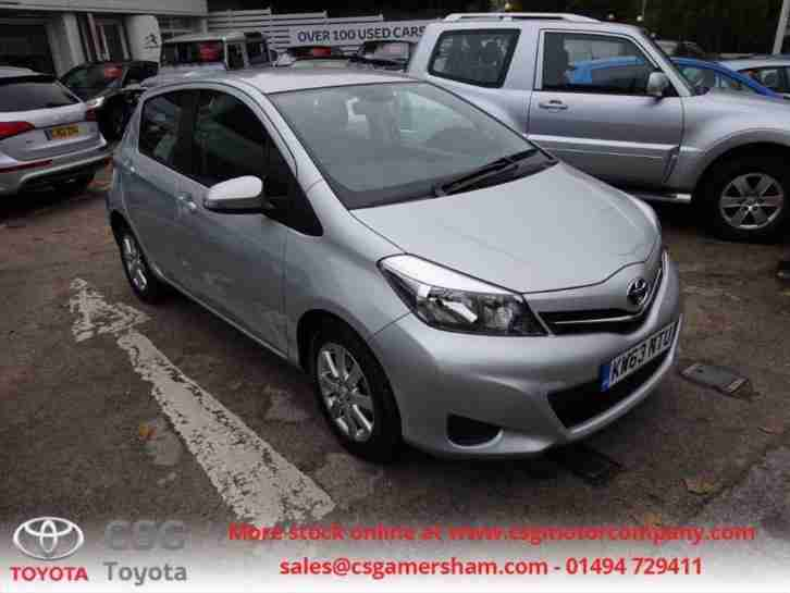 Yaris VVT I ICON FFSH LOW LOW MILEAGE