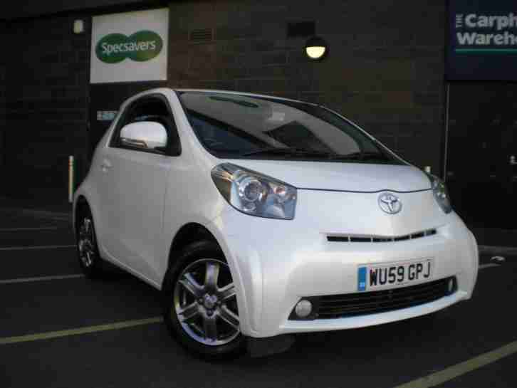 Toyota IQ 1.0. Toyota car from United Kingdom