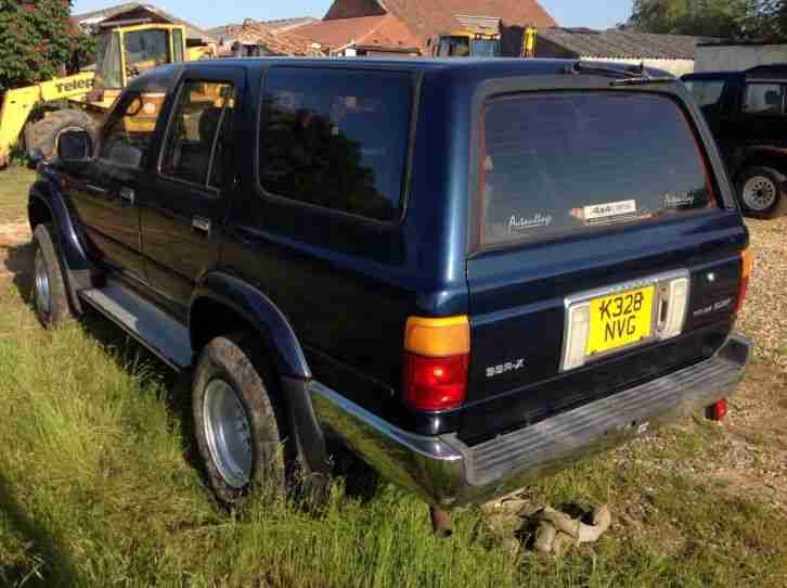 Toyota surf spares or repairs very tidy low miles