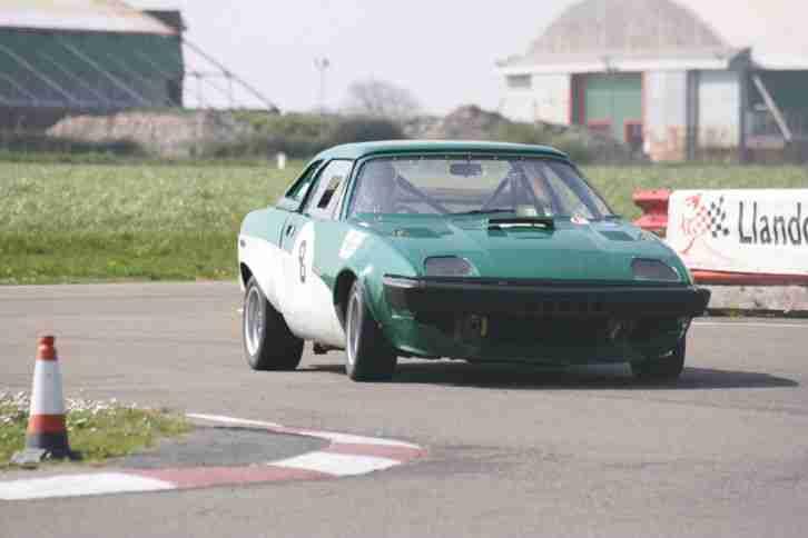 Triumph TR7 V8 race track day hill climb car body shell only
