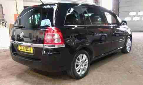 UBER PCO READY 2010 VAUXHALL ZAFIRA ELITE CDTI AUTO BLACK FOR RENTAL ONLY