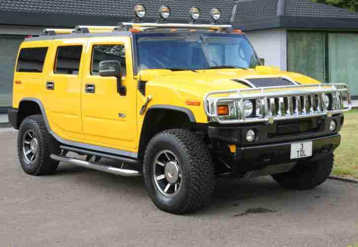 hummer uk h2 6 2 v8 luxury one owner 19k car for sale. Black Bedroom Furniture Sets. Home Design Ideas