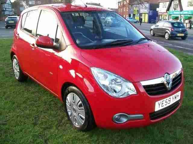 Vauxhall AGILA 1.2. Vauxhall car from United Kingdom