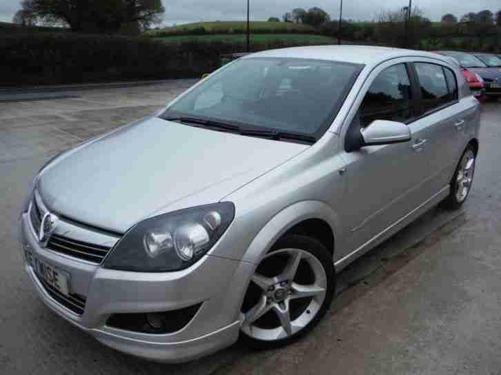 Vauxhall Astra 16v 140ps Exterior Pack Sri 5dr 2007 07 62 200
