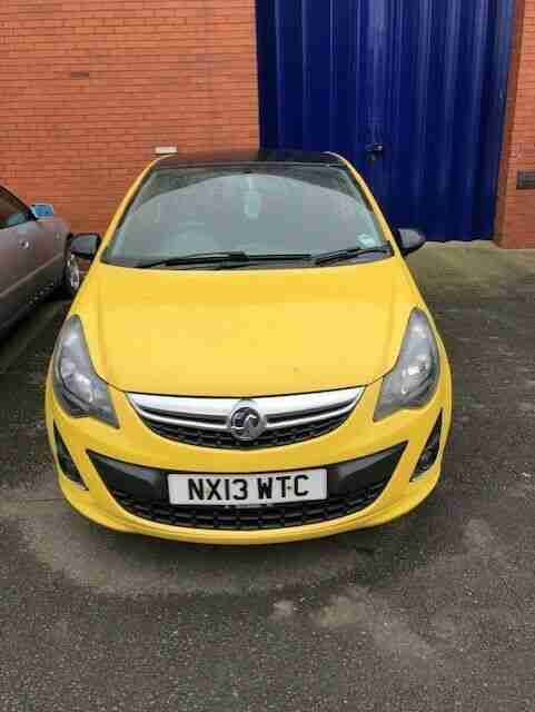 VAUXHALL CORSA 1.3 CDTI LIMITED EDITION