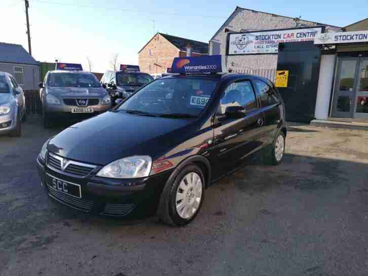 VAUXHALL CORSA Active 2004 Petrol Manual in