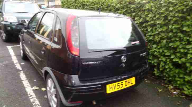 VAUXHALL CORSA BREEZE BLACK 1200cc