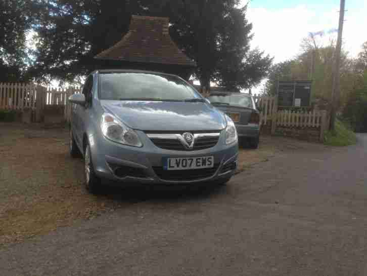 CORSA D 2007 A C Blue low miles