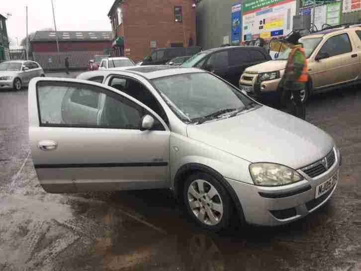 Vauxhall CORSA DOORS. Vauxhall car from United Kingdom