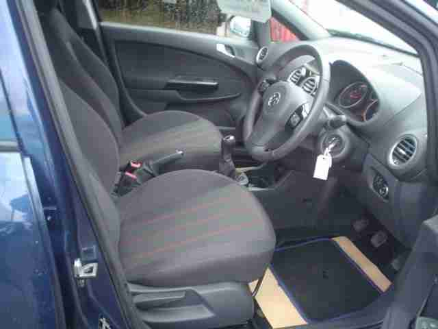VAUXHALL CORSA SXI AC 2012 Petrol Manual in Blue