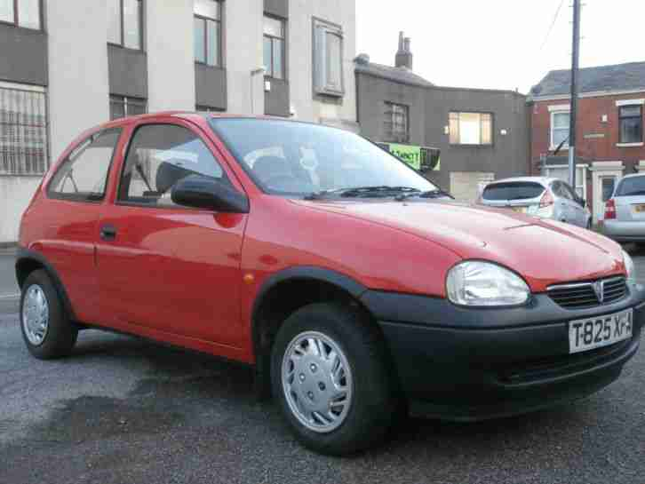 CORSA T REG ENVOY 1.0 12V RED CHEAP TAX AND INSURANCE NO RESERVE