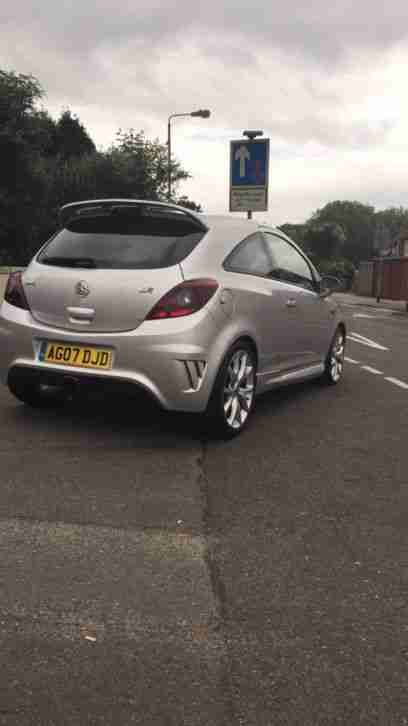 VAUXHALL CORSA VXR TURBO SILVER Px Gti dsg r32 turbo hot hatch car