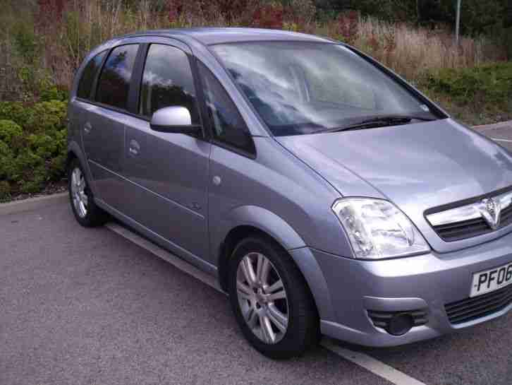 Vauxhall Meriva 14 Active Silver 2006 35000 Miles Car For Sale