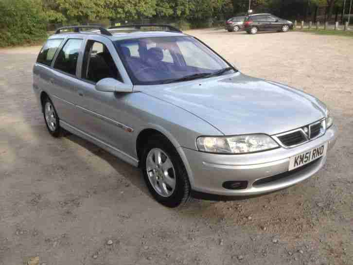 VAUXHALL VECTRA CD ESTATE..2200cc.2001 51