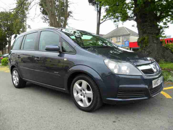 vauxhall zafira 1 9 cdti diesel 2007 complete with m o t. Black Bedroom Furniture Sets. Home Design Ideas