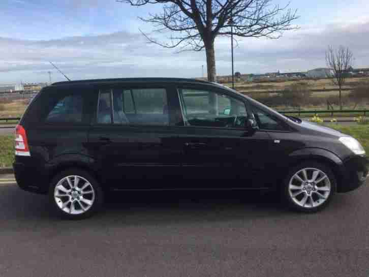 vauxhall zafira 1 9 cdti low mileage 85209 full service. Black Bedroom Furniture Sets. Home Design Ideas