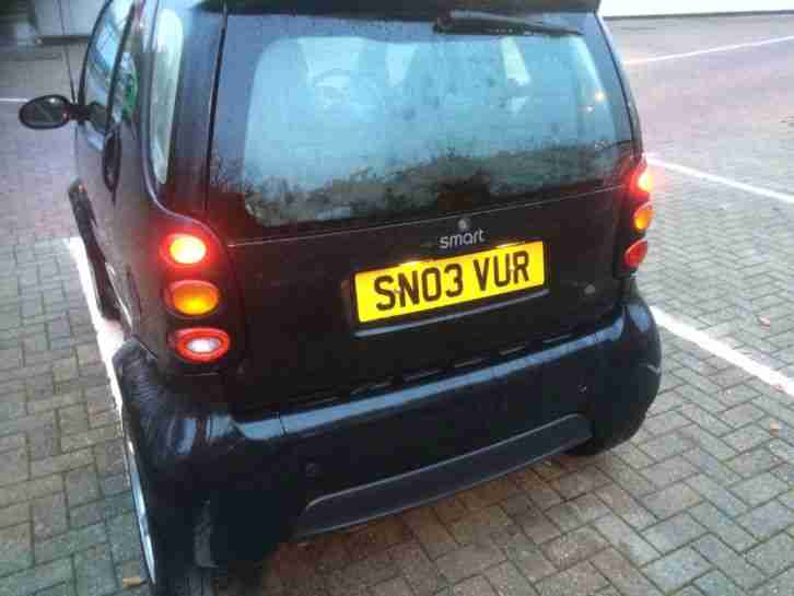 VERY LOW MILEAGE SMART CAR COUPE LONG MOT & WARRANTY ONLY 41000 MILES