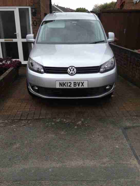 Volkswagen CADDY MAXI. Volkswagen car from United Kingdom