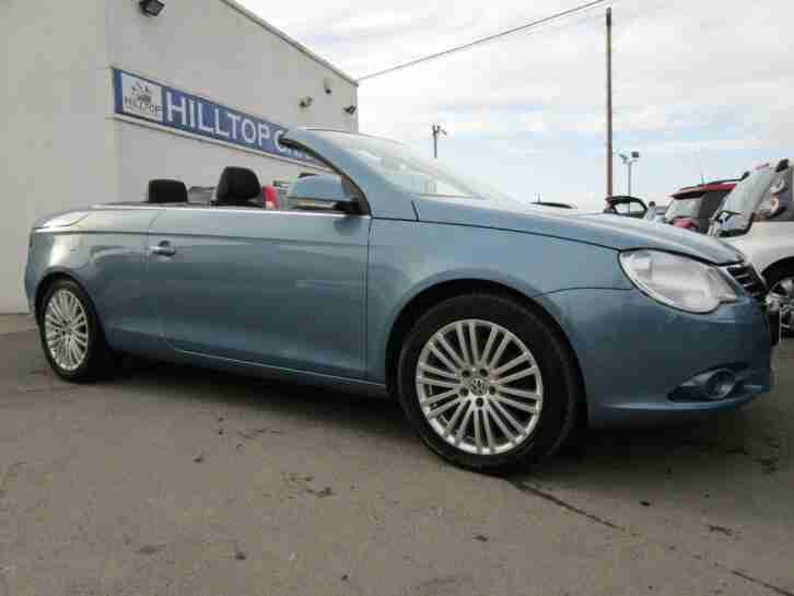 VOLKSWAGEN EOS 2.0 TDi 140 Sport Blue Manual
