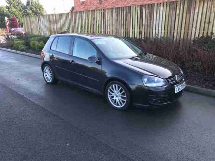 Volkswagen GOLF 07. Volkswagen car from United Kingdom