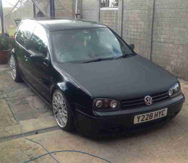 MK4 GOLF 1.8 GTI TURBO BLACK