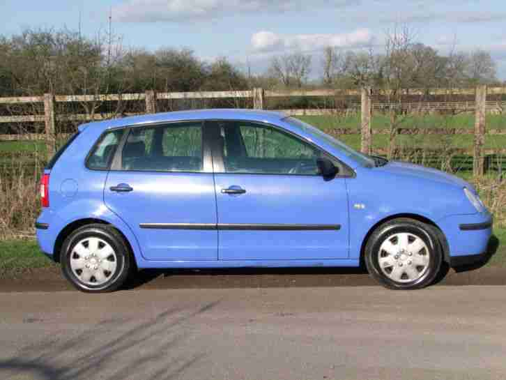 VOLKSWAGEN POLO E BLUE 1.2 2002