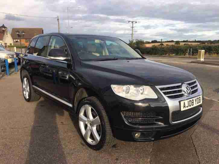 VOLKSWAGEN TOUAREG V6 ALTITUDE TDI DIESEL AUTOMATIC 2008/08