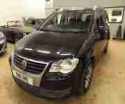 VOLKSWAGEN TOURAN TDi PD 105 SE Black Manual Diesel, 2009
