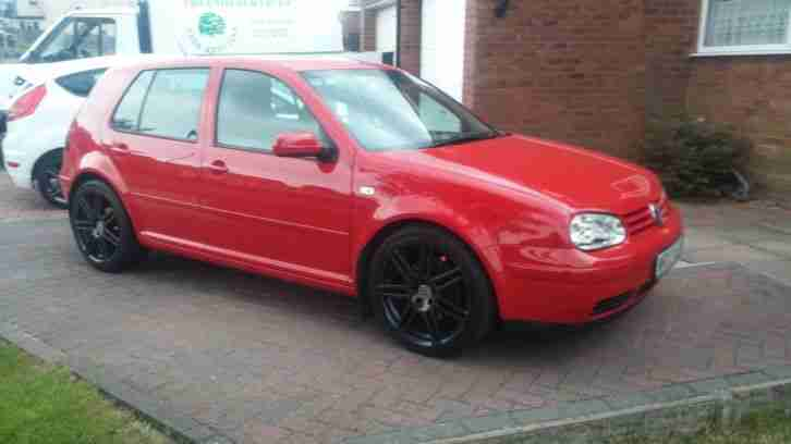 volkswagen vw golf gt tdi red 130 mk4 low mileage diesel outstanding. Black Bedroom Furniture Sets. Home Design Ideas