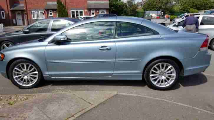 volvo c70 d5 se rti rare spec manual gearbox with smarttop fitted. Black Bedroom Furniture Sets. Home Design Ideas