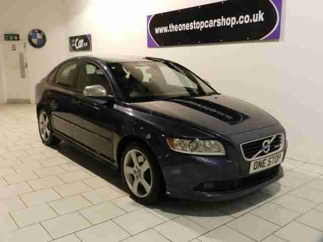 Volvo S40 D3. Volvo car from United Kingdom
